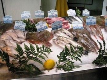 Открытие рыбной лавки