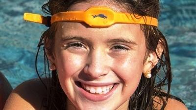 Стильный ободок «iSwimband», спасающий жизнь