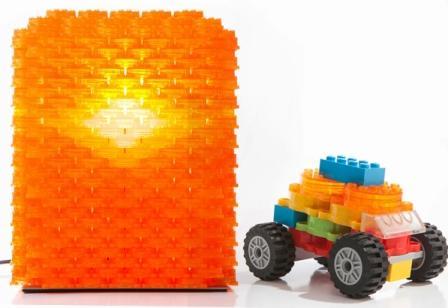 Использование крышек Clever Pack как конструктора Lego