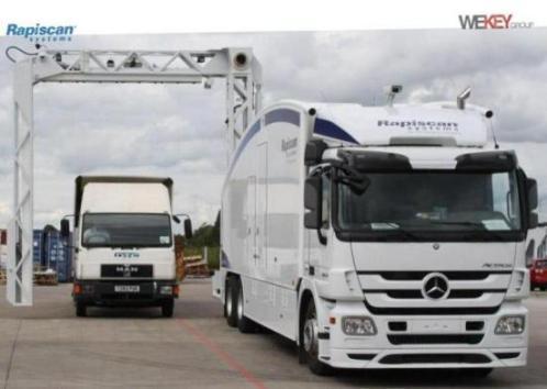 Прохождение автотранспорта через инспекционно-досмотровый комплекс